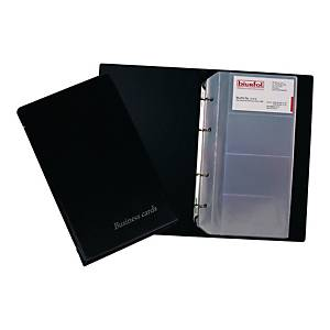 BUSINESS CARD FILE 200 BLACK