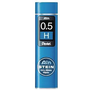 PK40 PENTEL AIN C275 PENCIL LEADS 0.5 H