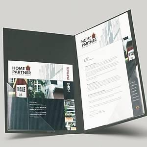 Pochettes-coin autocollantes 3L Office, 10 x 10 cm, le paquet de 12 pochettes