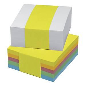 Wkład kolorowych kartek 85x85 mm