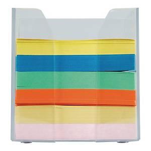 Pojemnik na wkłady papierowe, przezroczysty z kolorowym wkładem