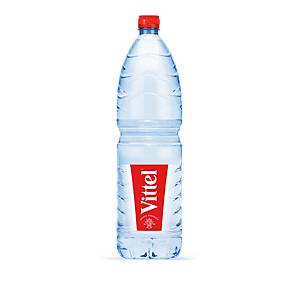 Vittel mineraalwater, pak van 6 flessen van 1,5 l