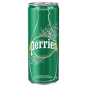 Perrier sparkling water can 33 cl - pack of 24