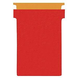 Valrex T-cards index 2 red - pack of 100