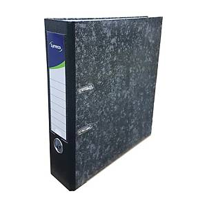 Lyreco Laminated Marble Lever Arch File A4 3 inch