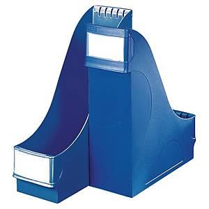 Portariviste alta capacità Leitz polistirene dorso 10 cm blu
