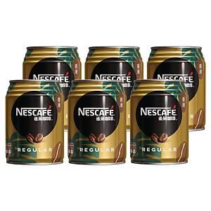 NESCAFÉ 雀巢 咖啡250毫升 - 6罐裝