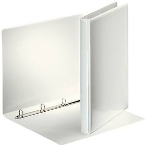ESSELTE A4 WHITE 4O-RING PRESENTATION BINDER 16MM