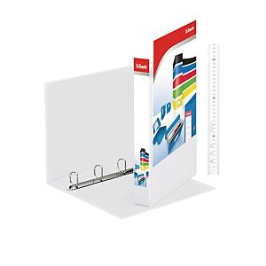 ESSELTE A4 WHITE 4D-RING PRESENTATION BINDER 40MM