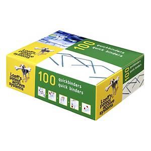 Loeff s Patent binders 14cm accessoires archivage - boîte de 100