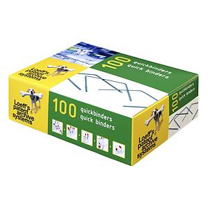 Loeff s Patent quick binders 14cm archive accessories - box of 100