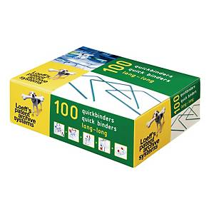 Loeff s Patent quick binders 10cm archive accessories - box of 100