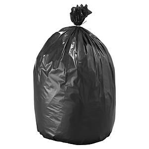 Sac poubelle pour déchets lourds - 110 L - 70 microns - noir - 200 sacs