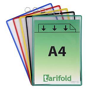 Pack de 5 bolsas de suspensão Tarifold T-Display - sortidas