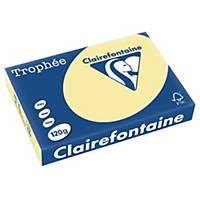 Kopierpapier Trophée 1248 A4, 120 g/m2, gelb, Pack à 250 Blatt