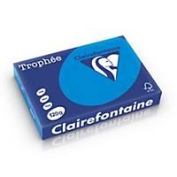 Clairefontaine Trophée 1291 gekleurd A4 papier, 120g, caraïbenblauw, per 250 vel