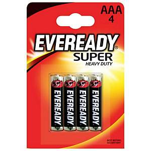 Eveready Battery AAA Pk4