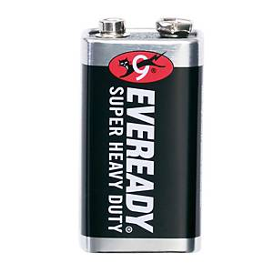 EVEREADY 1222 CARBON ZINC BATTERY 9V
