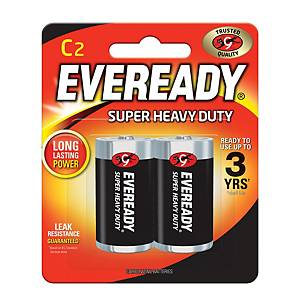 Everyday Super Heavy Duty Battery C - Pack of 2