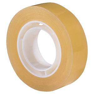 LYRECO BUDGET TRANSPARENT TAPE 15MM X 33M - PACK OF 10