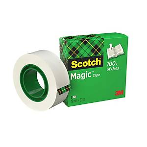 Scotch Magic 810 invisible tape 12mmx33 m