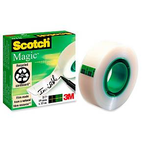 Ruban adhésif invisible Scotch® Magic™ Tape 810, l 19 mm x L 33 m