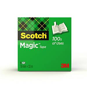 Ruban adhésif invisible Scotch Magic - 19 mm x 33 mm