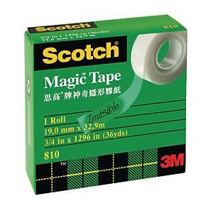 Scotch 思高牌 810 神奇隱形膠紙 0.75吋 x 36碼