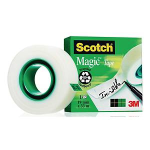 Taśma klejąca 3M SCOTCH 810 Magic matowa, 19 mm x 33 m