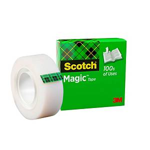 Fita adesiva invisível Scotch Magic - 19 mm x 33 m