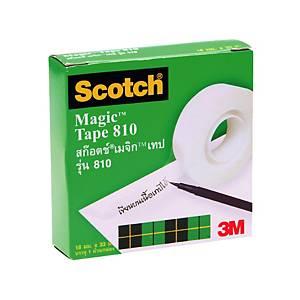 SCOTCH เมจิกเทป8103/4นิ้ว x 36หลา แกน 1 นิ้ว