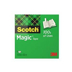 Ruban adhésif invisible Scotch® Magic™ Tape 810, l 19 mm x L 66 m