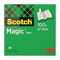 Ruban adhésif invisible Scotch Magic - 19 mm x 66 mm