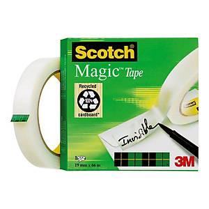 Fita adesiva invisível Scotch Magic - 19mm x 66 m