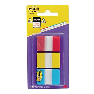 Post-It Strong Index Flags 25mm 3 X 22 Pack