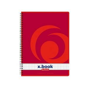 Herzlitz Notizbuch, A5, weicher Umschlag, kariert, 160 Seiten