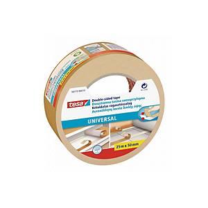 Oboustranná lepicí páska tesa® UNIVERSAL, 50 mm x 25 m