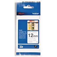 Ruban d étiqueteuse Brother P-touch TZE-N231, 12 mm x 8 m, noir/blanc