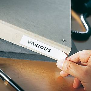 Portaetichettte adesivi l 75 x h 46 mm - conf. 24
