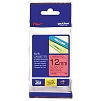 Ruban d étiqueteuse Brother P-touch TZe-431, 12 mm x 8 m, laminé, noir/rouge