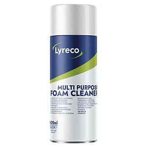 Espuma de limpieza multisuperficies Lyreco - inflamable - 400 ml