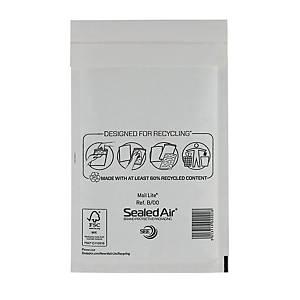 Luftpolstertaschen Mail Lite B/00, Innenmaße: 120x210mm, weiß, 100 Stück
