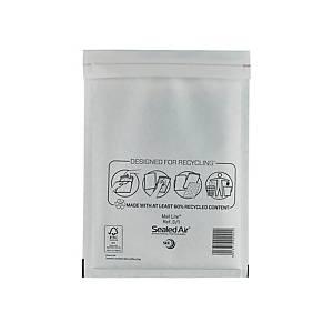 Luftpolstertaschen Mail Lite D/1, Innenmaße: 180x260mm, weiß, 100 Stück