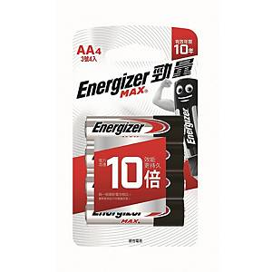 Energizer Alkaline Batteries AA - Pack of 4