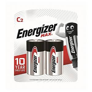 Energizer Alkaline Batteries C - Pack of 2