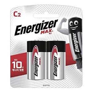에너자이저 MAX LR14 C형 건전지 2개입