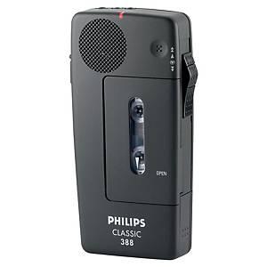 Dictaphone Philips LFH0388, analogique, noir