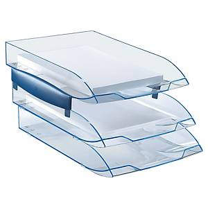 Tabuleiro de secretária Cep Ice - poliestireno - azul