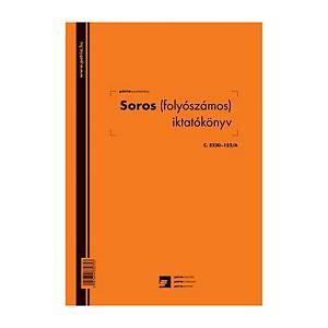 Pátira iktatókönyv, 100 lap, A4