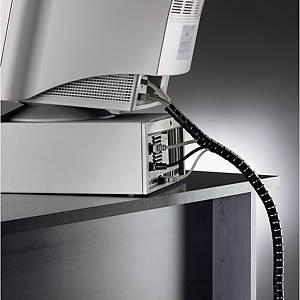 Kabelführungssystem Fellowes 99439, Länge: 2m, Durchmesser: 20mm, schwarz